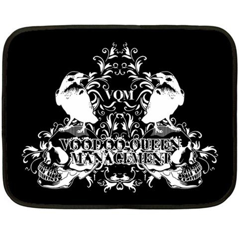 Voodoo Queen Management Two Sided Fleece Blanket
