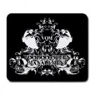 Voodoo Queen Management Large Mousepad