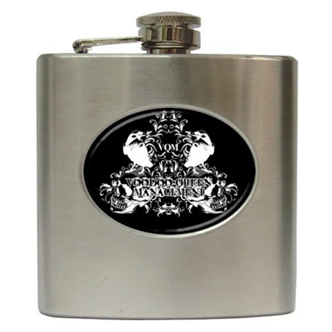 Voodoo Queen Management 6 oz Hip Flask