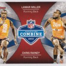 2012 Bowman Combine Competition #CCMR Lamar Miller/Chris Rainey