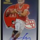 2012 Fleer Retro Rookie Sensations Autographs #RS13 Case Keenum