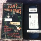 Ed Wood's Planet 9 From Outerspace VHS tape