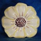 Bisque Made in USA Wall Pocket ~ Dogwood Flower c. 1950