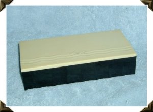 Art Deco Bakelite Hinged Box For Community Silver c. 1930s