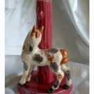 Childs Bedroom Lamp Base with Pony c. 1930s/1940s