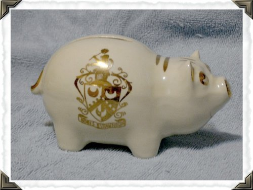 Piggy Bank Collegiate Specialty Co c.1940s