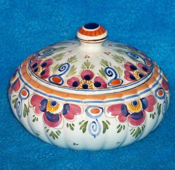 Delft de Delftse Pauw ~ Signed Candy Jar