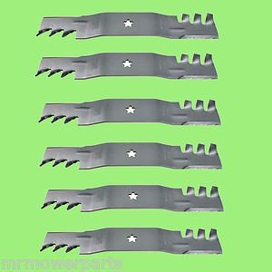 6-Rotary 12121 Lawnmower Blade to Replace AYP/Roper/Sears 187254, 187255, 187256