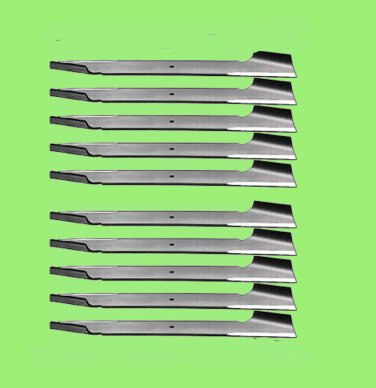 10 Rotary 6105 Lawn Mower Blades for AYP Blade Roper/Sears 121263X Oregon 95-031
