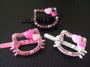 Hello Kitty Magnet Hairpins (H001)