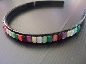 Multi Coloured Stones Hairband (H011)