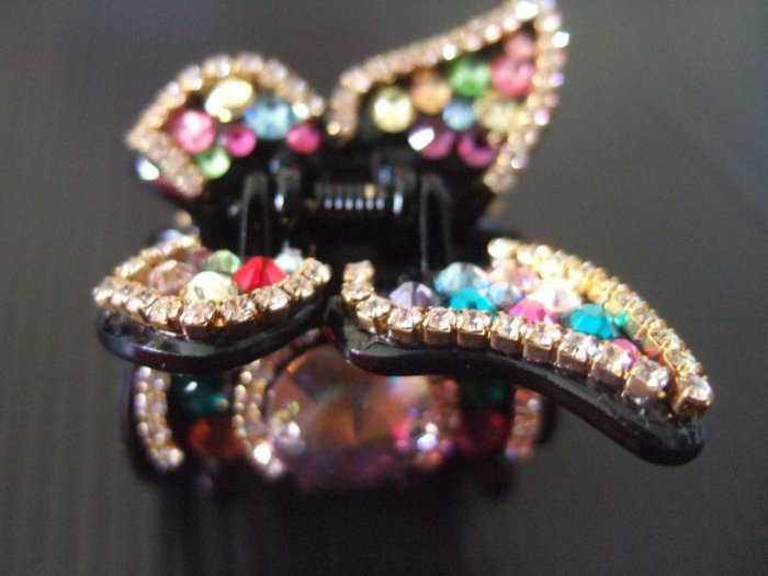 Butterfly with Swaroski Crystals Hairpin (H005)