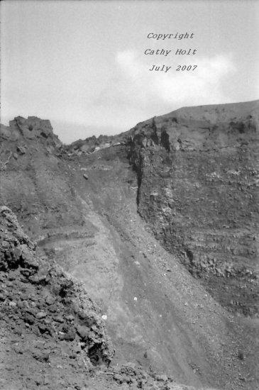 Inside Mt. Vesuvius #4