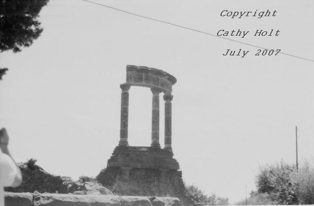 Pompeii in Black & White #6 - Temple to Venus(?)