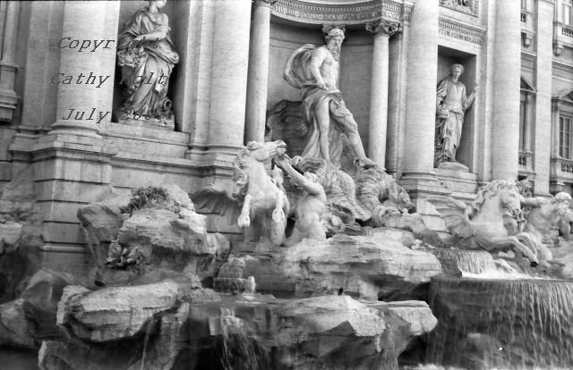 Trevi Fountain, Rome, Italy