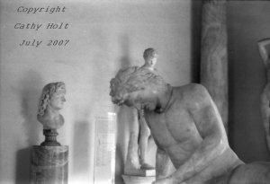 Sculpture at the Campidolio  Rome, Italy