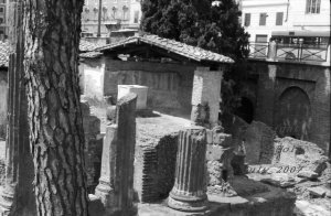 """""""Living around the Past""""  Ruins in Rome, Italy"""