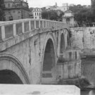 """Four Arches""  Tiber River Bridge, Rome, Italy"