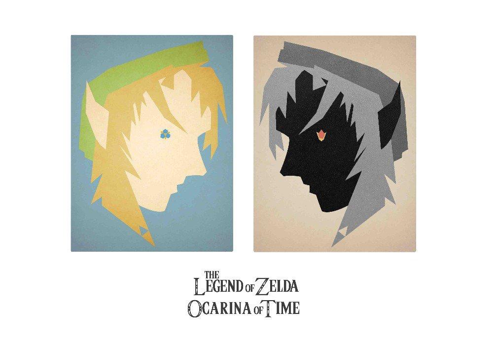 """The Legend Of Zelda Poster 33"""""""