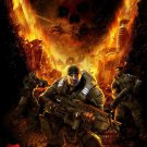 Gears Of War 3 Fire Helicopte Poster 32""