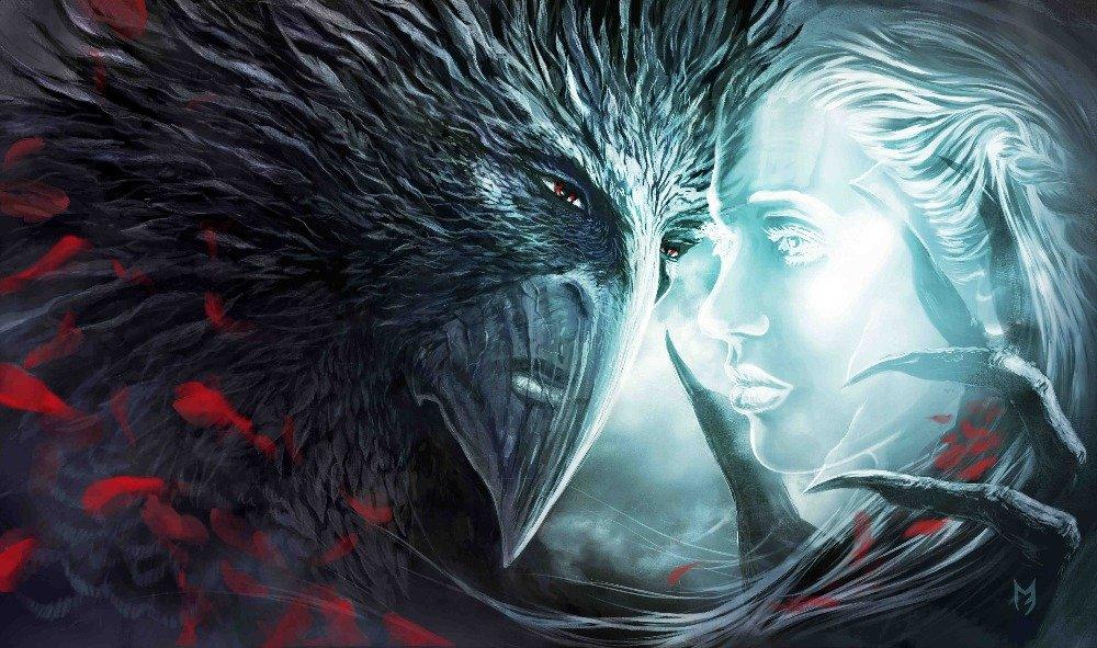 Fantasy Love Good Vs Evil Poster 40''