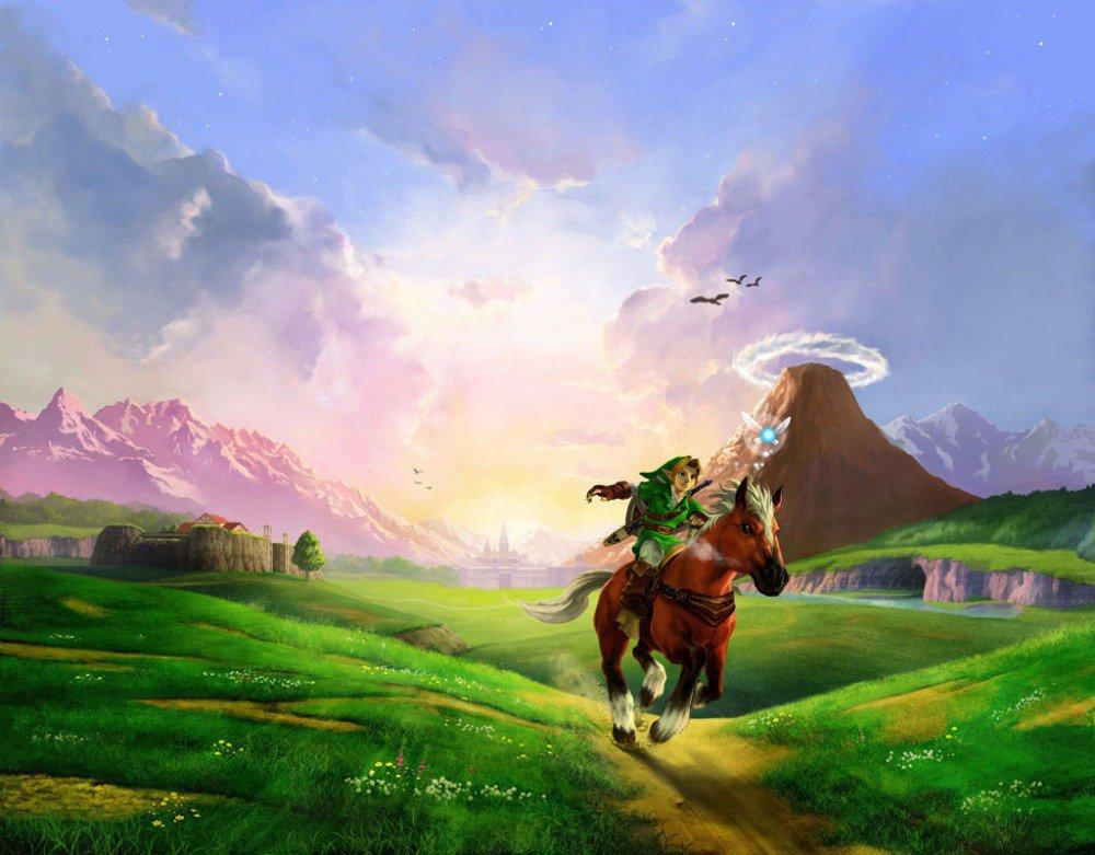 The Zelda 25th Anniversary Poster