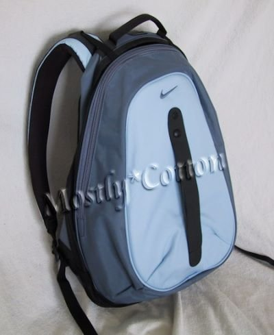 NIKE Air BACKPACK School Books Bag BLUE Rare NEW