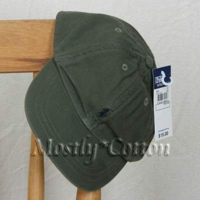 Polo Ralph Lauren TODDLER Boys Baseball Cap Hat KHAKI GREEN New