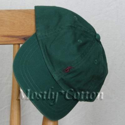 Polo Ralph Lauren TODDLER Boys Baseball Cap Hat GREEN New