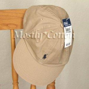 Polo Ralph Lauren TODDLER Boys Baseball Cap Hat KHAKI NwT New with Tags