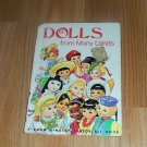 Dolls from Many Lands - A Rand McNally Junior Elf Book - 1975 Edition