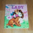 Walt Disney's Lady Hardback Book 1954 Tell-a-Tales