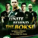 South Africa v Australia 2011 Tri Nations Match Programme