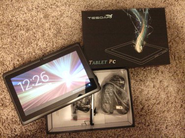 """NEW 7"""" GEN 4.2 Jellybean Android Tablet BLK"""