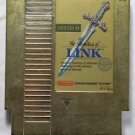 The Adventure of Link (gold cartridge) (Nintendo, NES) Game Cartridge, For Sale, RARE GAME