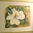 Yupo Magnolia 2-  watercolor on yupo paper