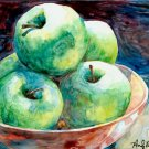 Green Apples- Reproduction Print