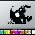 Cameraman Graffiti MacBook Air-Pro 11 13 15 17 Vinyl Stickers, Skin, Decal