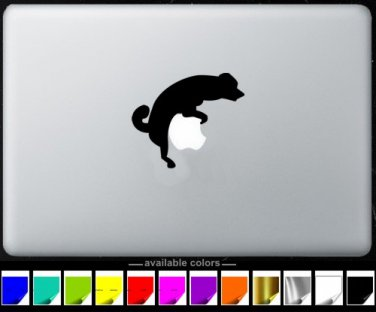 Dog Fcking MacBook Air-Pro 11 13 15 17 Vinyl Stickers, Skin, Decal