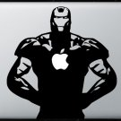 Iron man MacBook Air-Pro 11 13 15 17 Vinyl Stickers, Skin, Decal