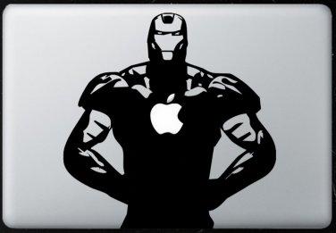 Iron man MacBook Air-Pro 11 13 15 17 Vinyl Stickers, Skin, Decal