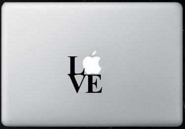 Love MacBook Air-Pro 11 13 15 17 Vinyl Stickers, Skin, Decal