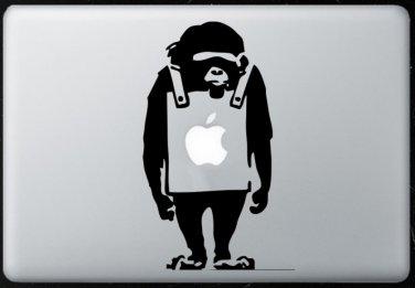 Monkey MacBook Air-Pro 11 13 15 17 Vinyl Stickers, Skin, Decal