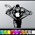 Superman Apple MacBook Air-Pro  13 15 17 Stickers  laptop Vinyl Decal Skins-A