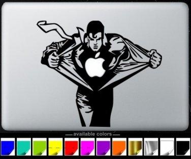 Superman Apple MacBook Air-Pro  13 15 17 Stickers  laptop Vinyl Decal Skins-A
