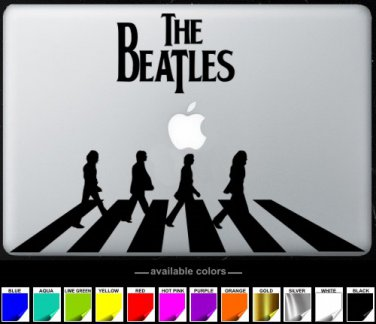 The Beatles MacBook Air-Pro 11 13 15 17 Vinyl Stickers, Skin, Decal