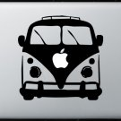 VW Bus MacBook Air-Pro 11 13 15 17 Vinyl Stickers, Skin, Decal