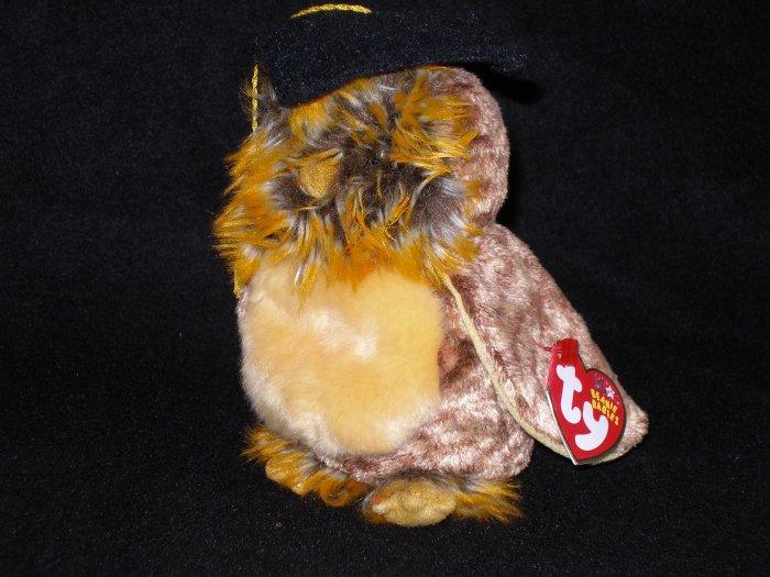 Ty Beanie Babies Smartest Owl Class of 2003 MWMT