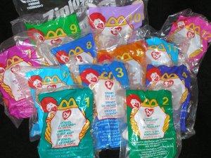 Ty Teenie Beanies 1999 Complete Set (12) New in Bags