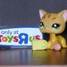 NEW Littlest Pet Shop Tiger Cat Toys R Us #1377